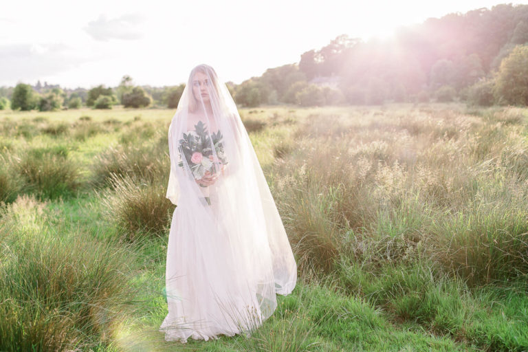 timeless and romantic bridal session