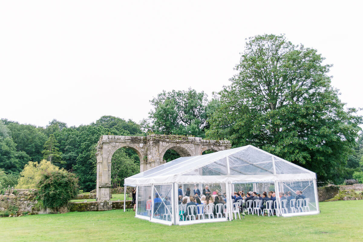 beautiful outdoor wedding venue for marquee wedding in sussex