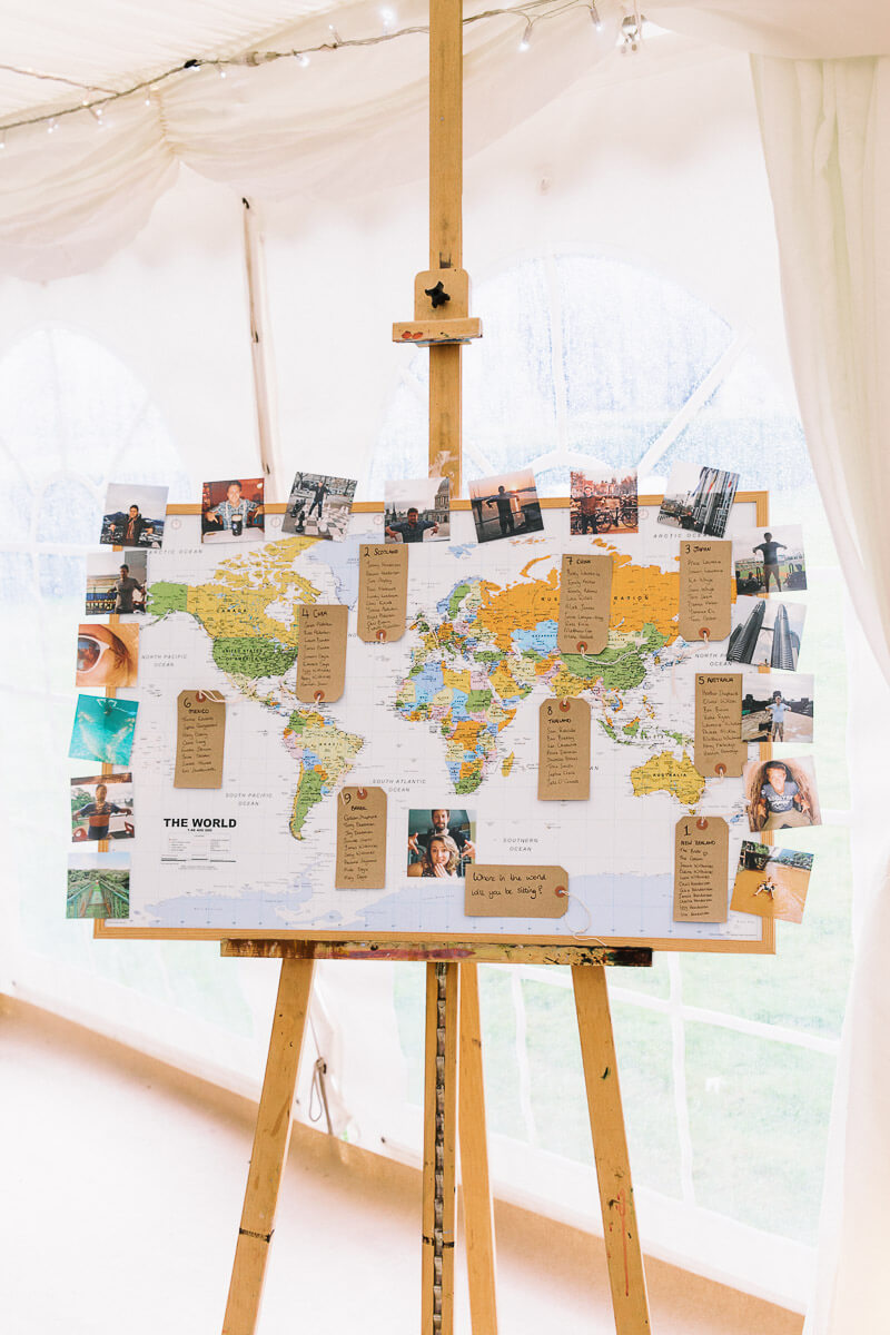 wedding day table seating plan inspiration and idea