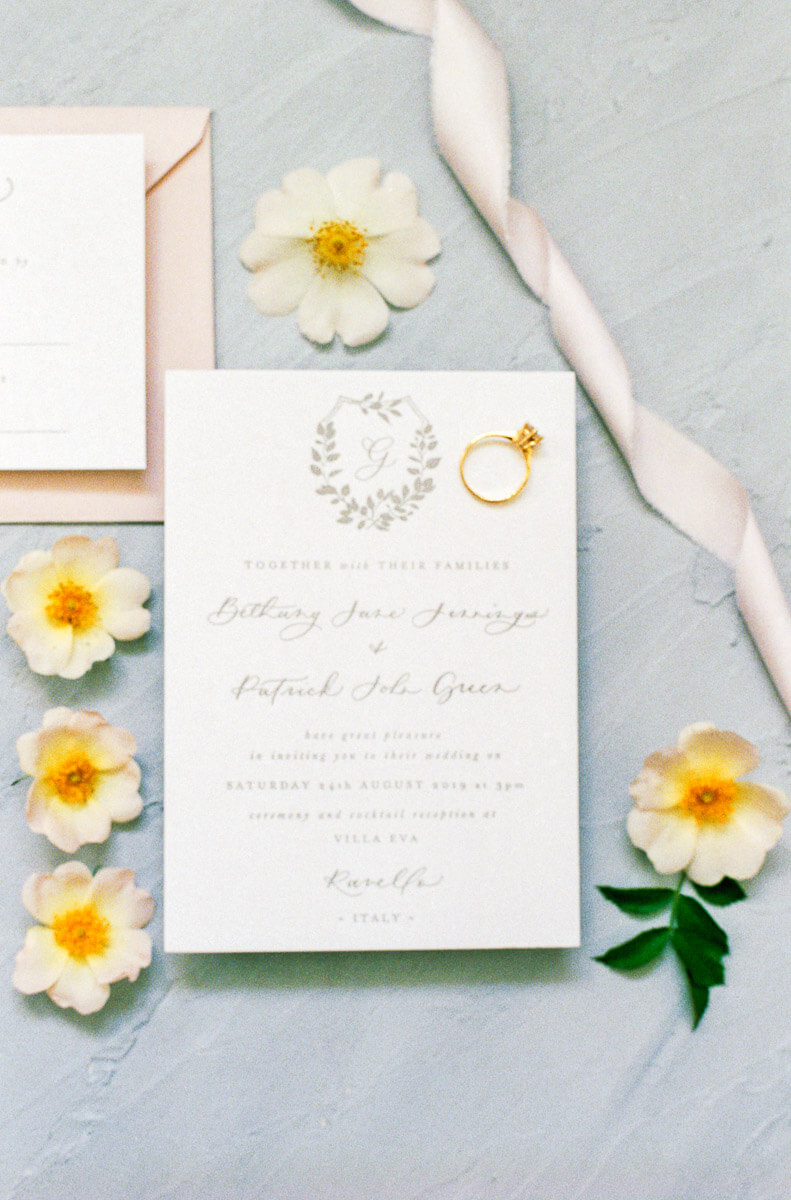 wedding calligraphy invitation suite ideas and inspiration