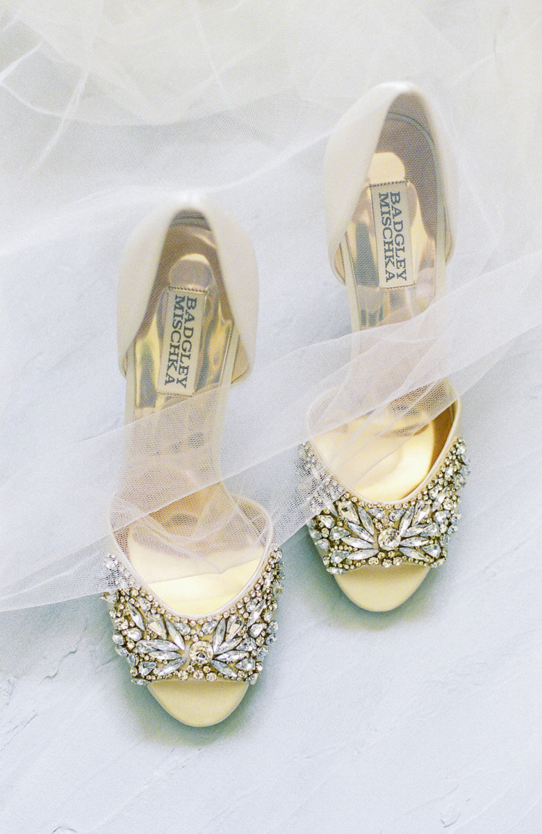 wedding shoes styling photography