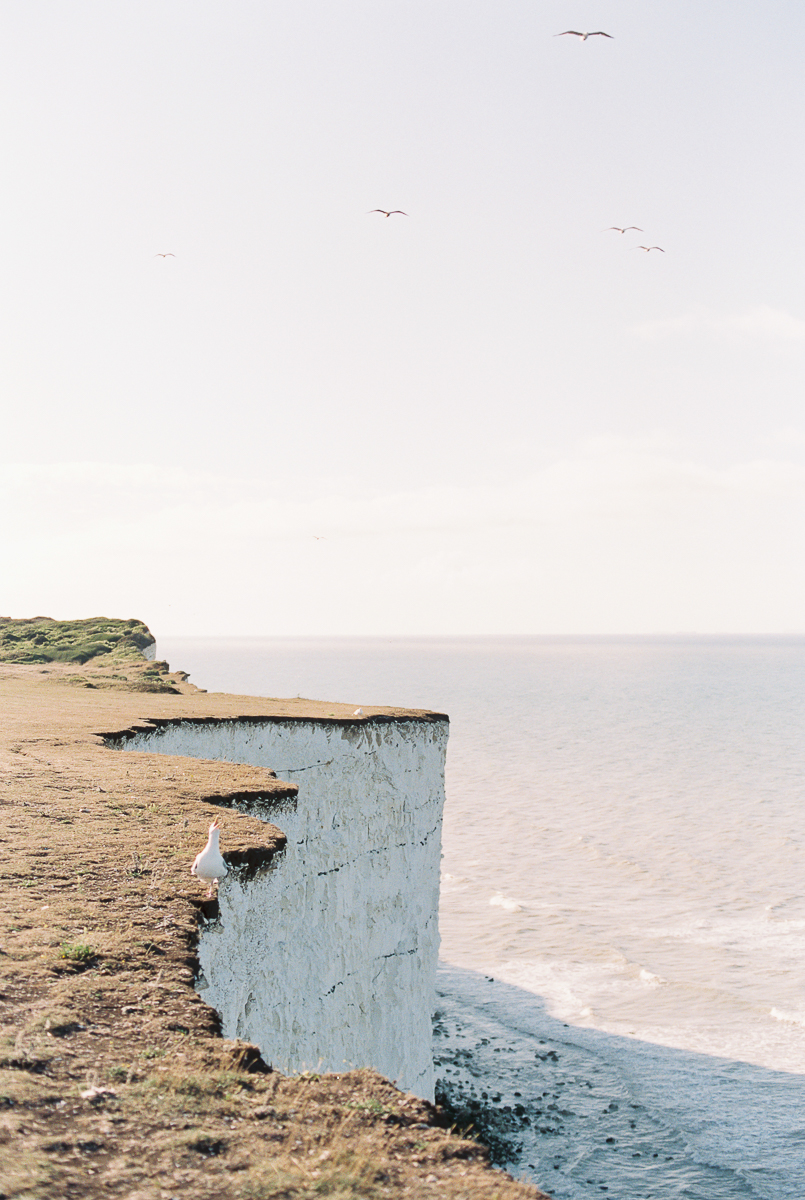 beautiful birling gap cliffs in sussex