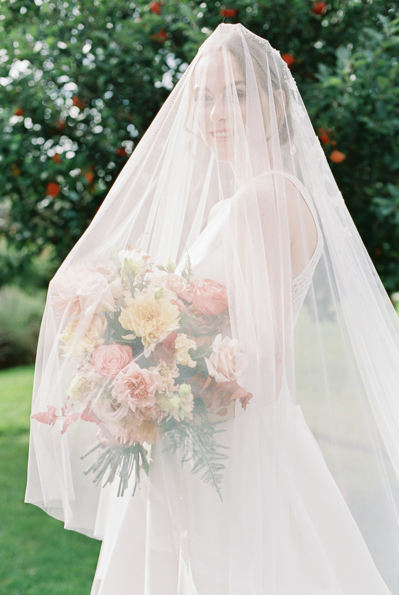 elegant and timeless bride photograph
