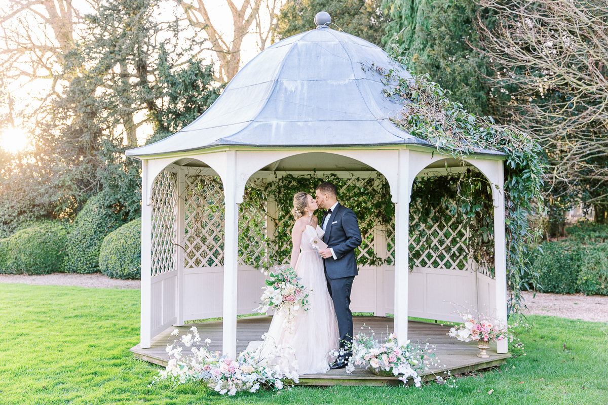 an intimate wedding at prestwold hall
