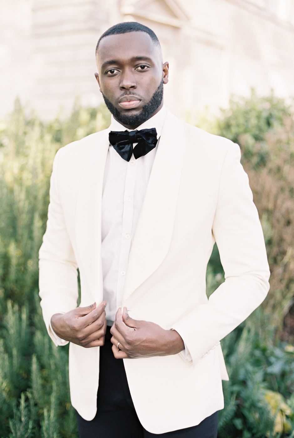 elegant the groom outfit
